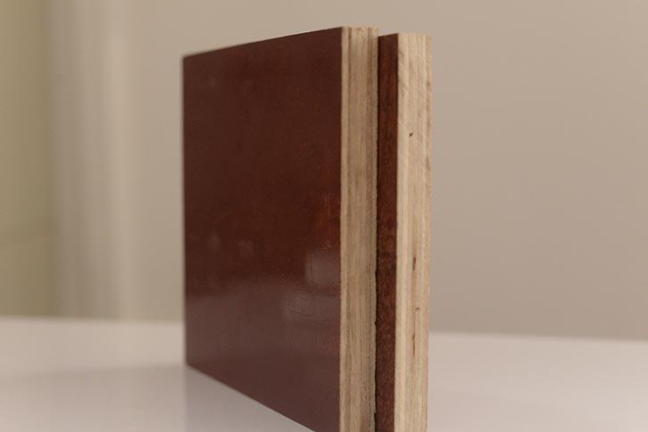 铁红面建筑模板1.0厚度木模板