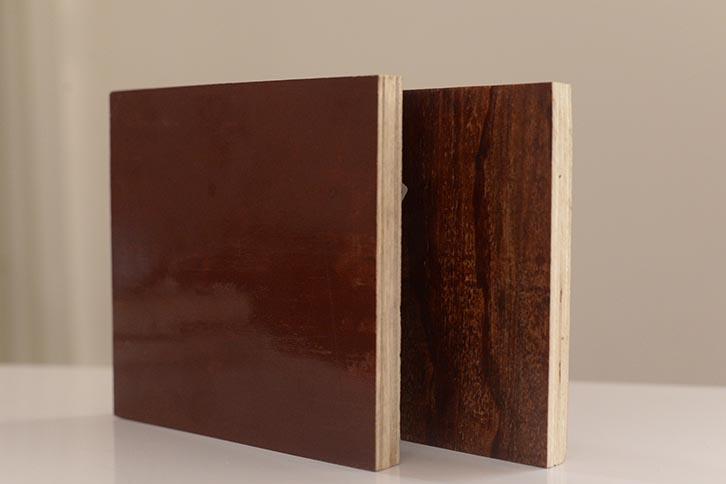 特厚1.6mm铁红面建筑模板优惠价