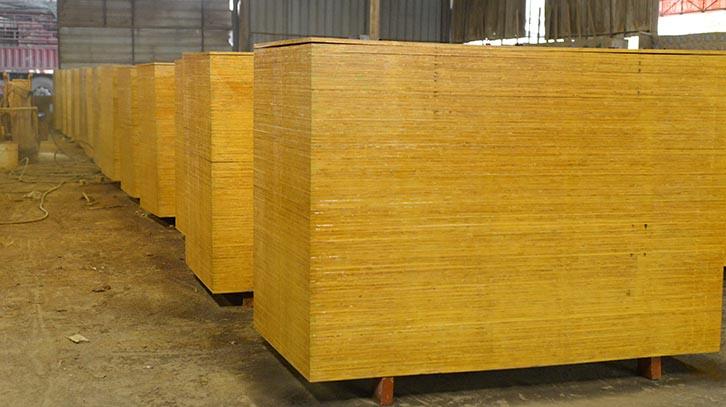 南宁建筑模板1.3厚度木模板