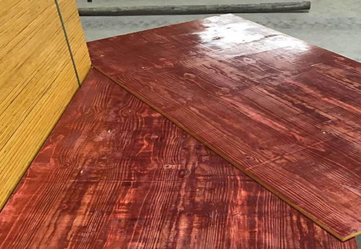 红面建筑模板厚度保足全实心